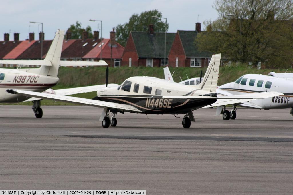 N446SE, 2007 Piper PA-32R-301T Turbo Saratoga C/N 3257446, Teton Air