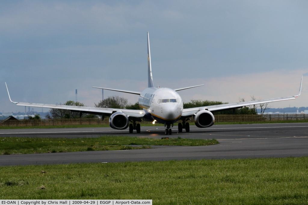 EI-DAN, 2003 Boeing 737-8AS C/N 33549, Ryanair