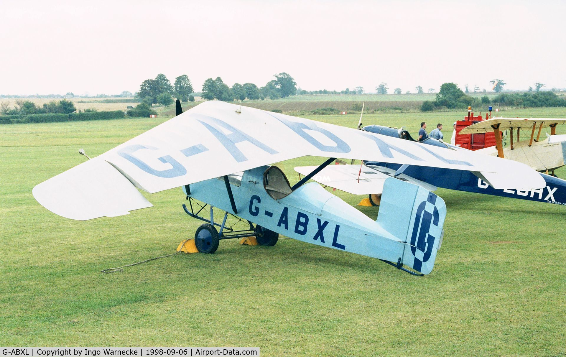 G-ABXL, Granger Archaeopteryx C/N 3A, Granger Archeopterix of the Shuttleworth Collection at the 1998 Shuttleworth Pageant