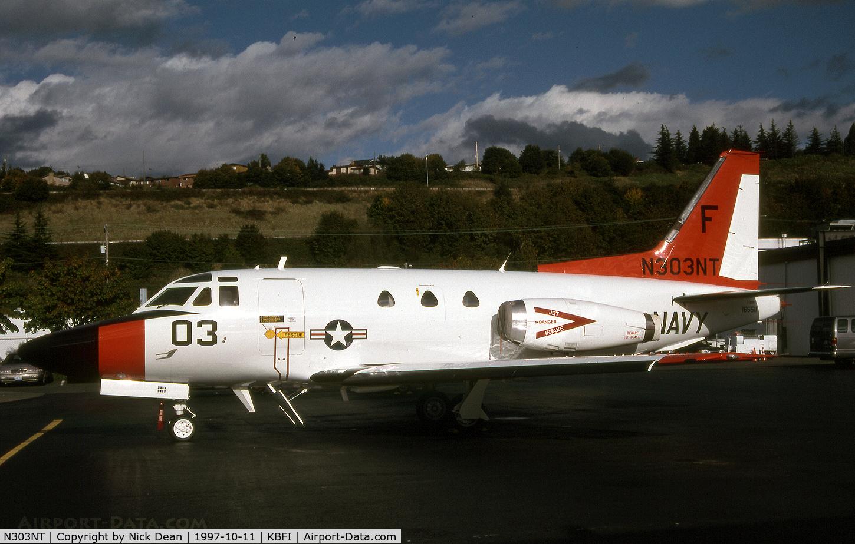 N303NT, 1965 North American NA-265-40 Sabreliner C/N 282-29, KBFI