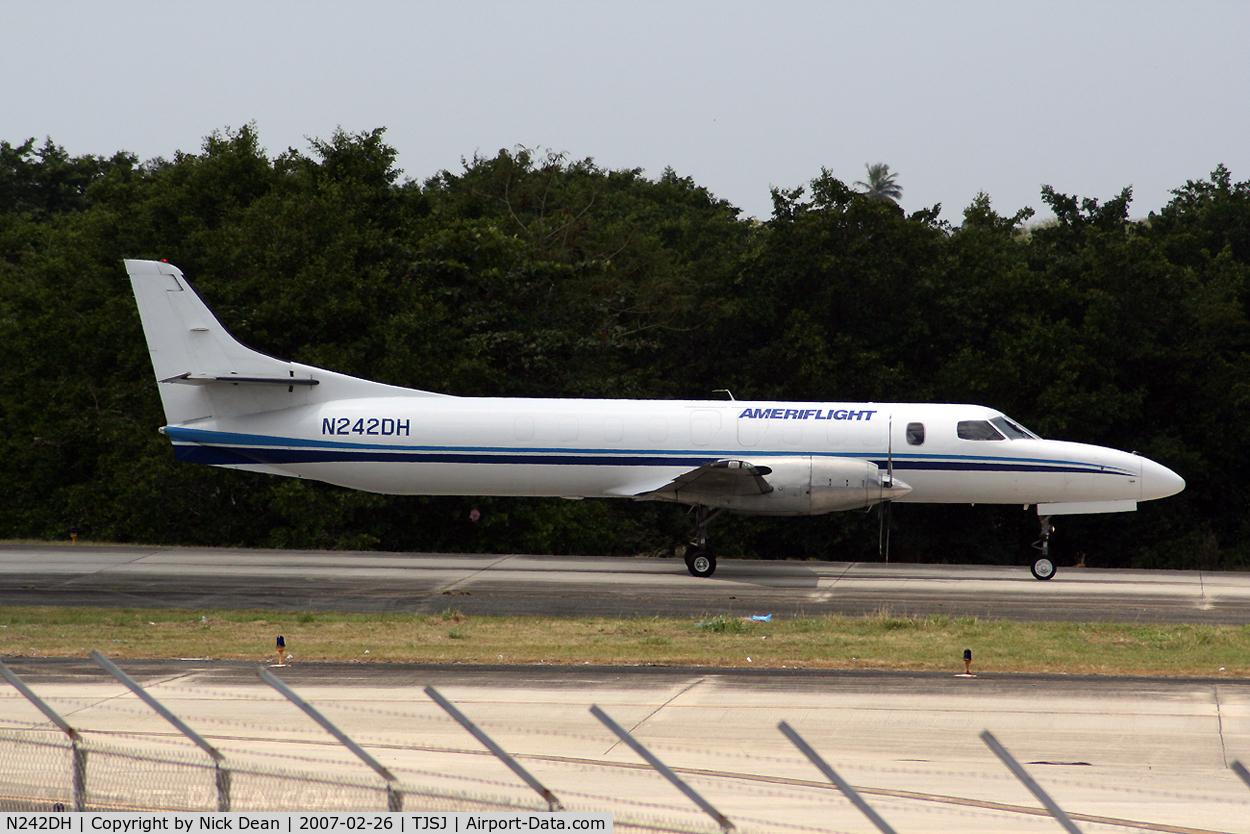 N242DH, 1985 Fairchild SA-227AT Merlin IVC C/N AT-608B, TJSJ