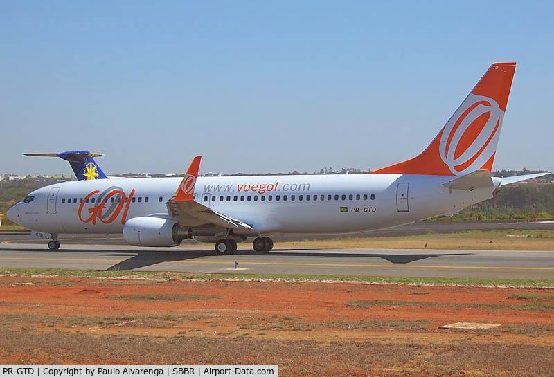 PR-GTD, Boeing 737-8EH C/N 34653/2039, Gol PR-GTD Crashed While Flying Flight 1907