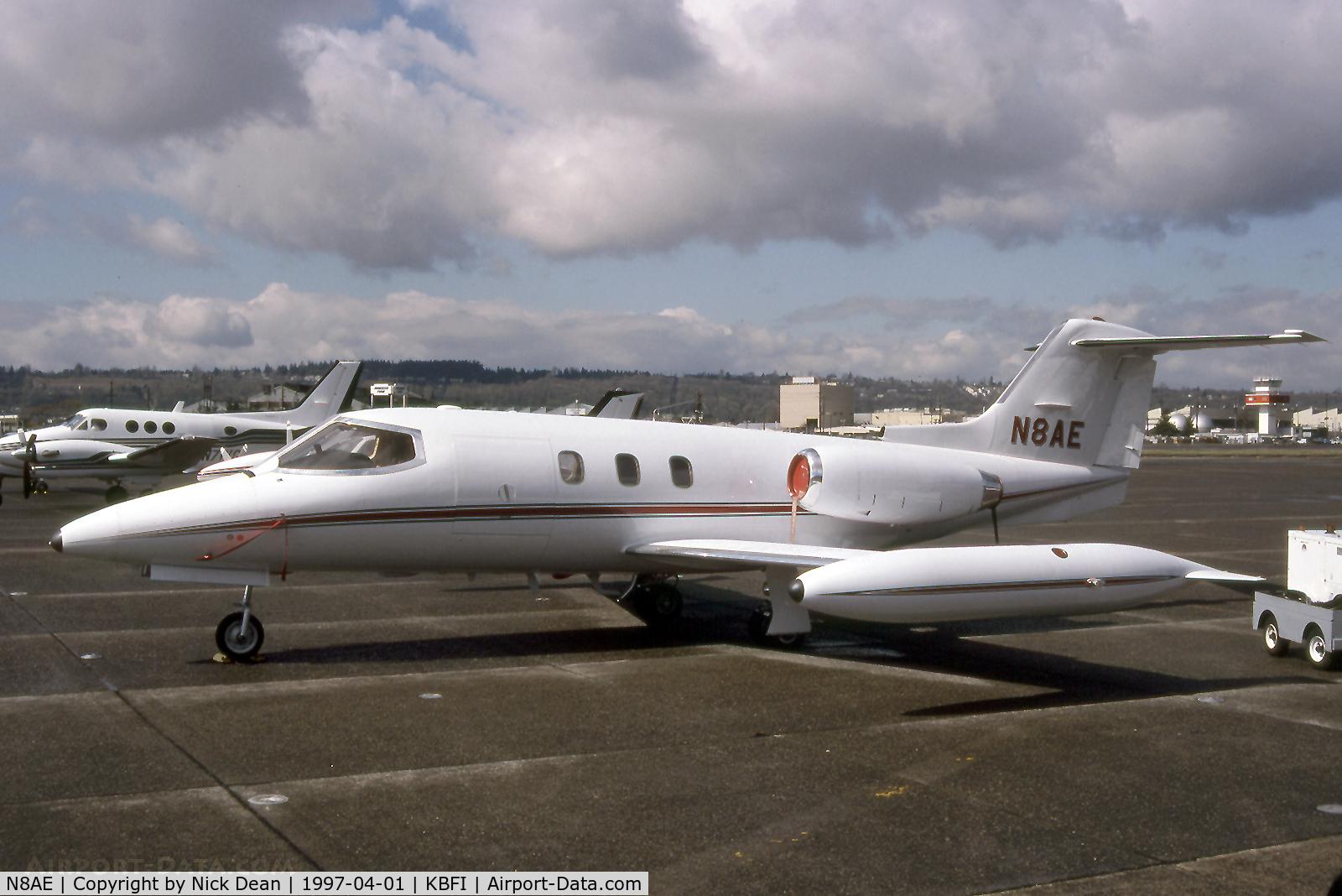 N8AE, 1976 Learjet 24E C/N 24E-335, KBFI
