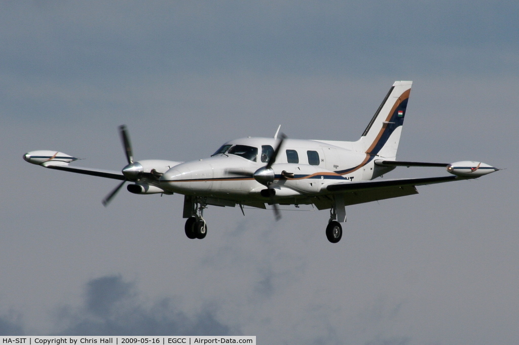 HA-SIT, 1977 Piper PA-31T Cheyenne C/N 31T-7820011, Previous ID's N250CT and N884CA