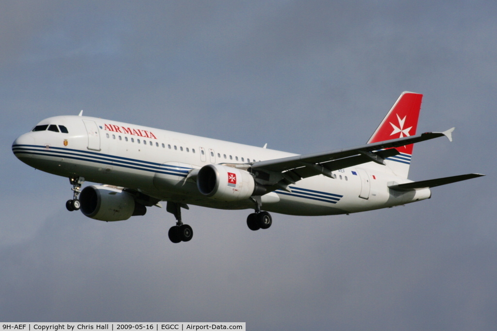 9H-AEF, 2003 Airbus A320-214 C/N 2142, Air Malta