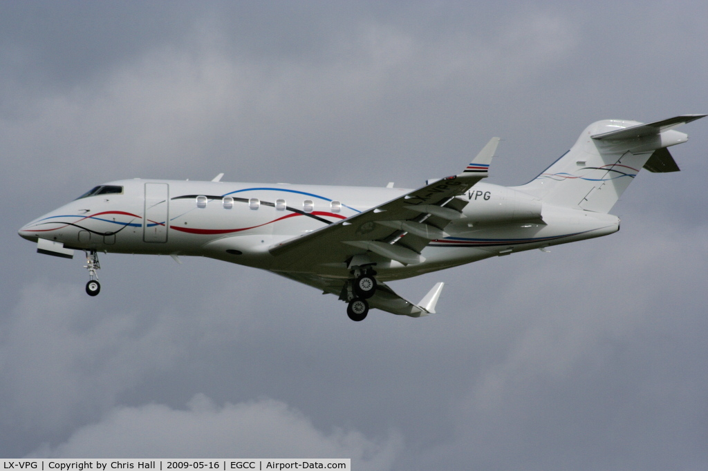 LX-VPG, 2008 Bombardier Challenger 300 (BD-100-1A10) C/N 20218, Bombardier BD-100-1A10 Challenger 300