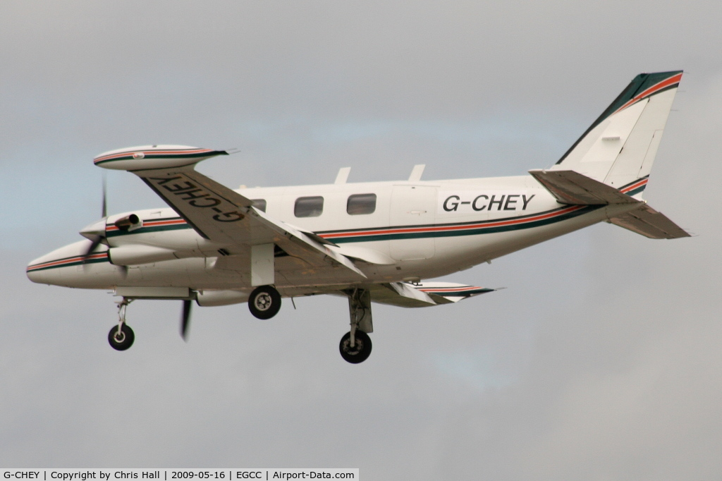 G-CHEY, 1981 Piper PA-31T2-620 Cheyenne IIXL C/N 31T-8166033, PROVIDENT PARTNERS LTD