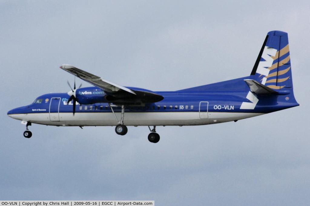 OO-VLN, 1989 Fokker 50 C/N 20145, VLM