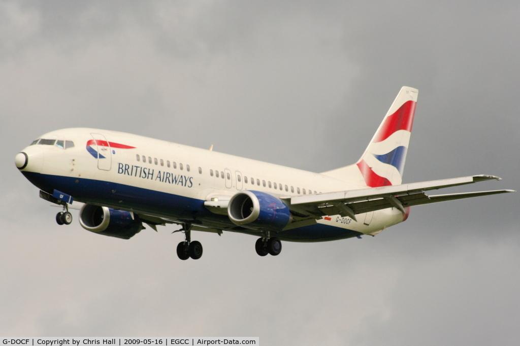 G-DOCF, 1991 Boeing 737-436 C/N 25407, British Airways