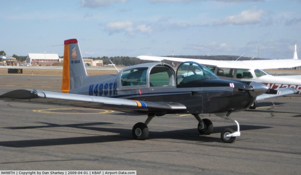 N498TH, 1978 Grumman American AA-5A Cheetah C/N AA5A0611, Restored at Aero Design, Westfeild, MA