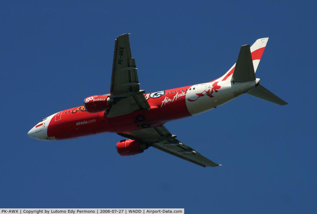 PK-AWX, 1990 Boeing 737-3Y0 C/N 24547, Air Asia