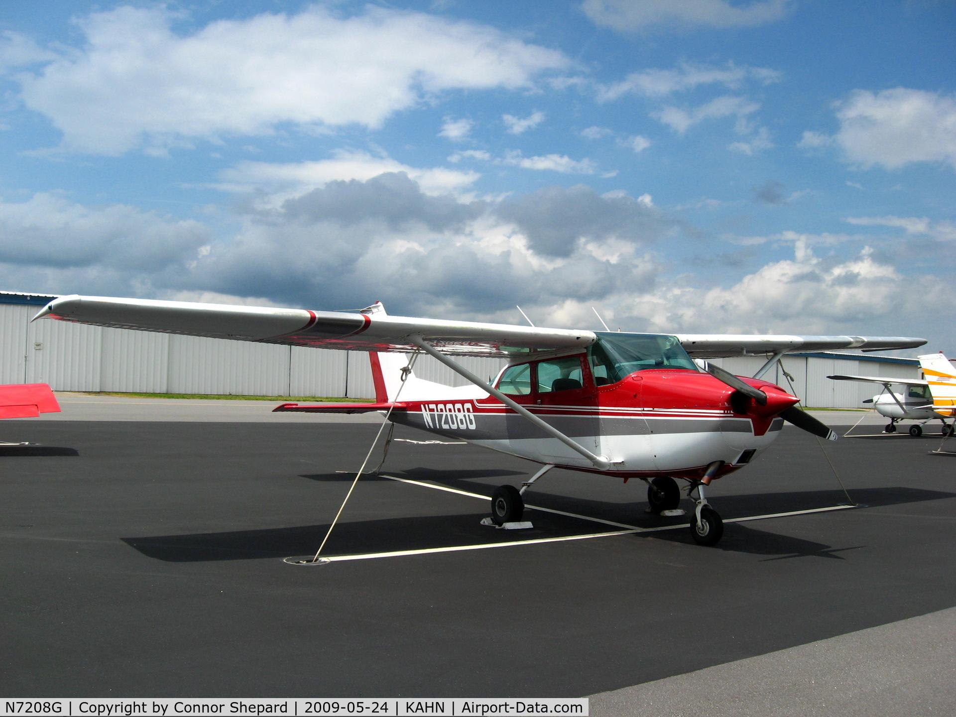 N7208G, 1969 Cessna 172K Skyhawk C/N 17258908, C172