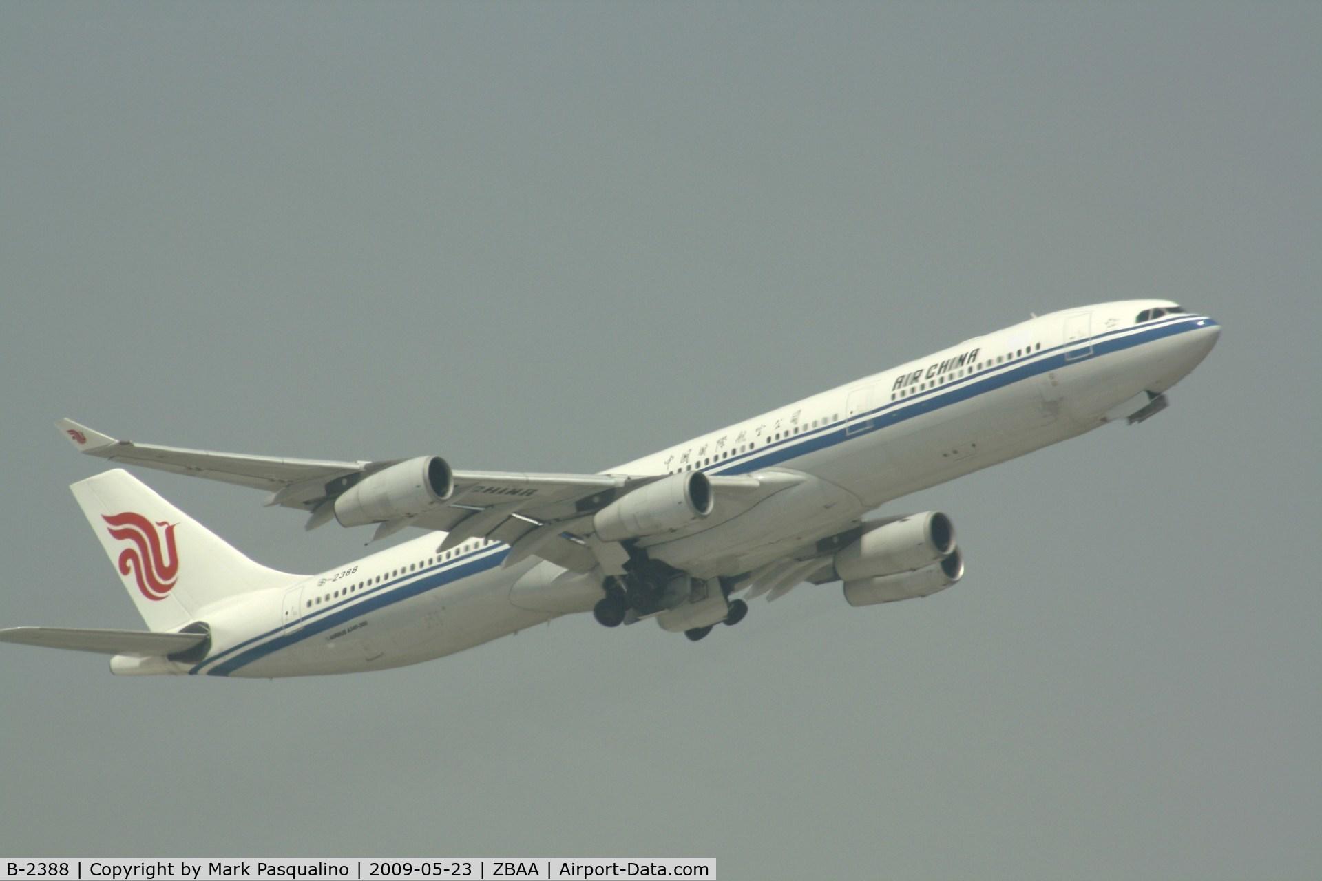B-2388, 1998 Airbus A340-313 C/N 242, Airbus A340-300