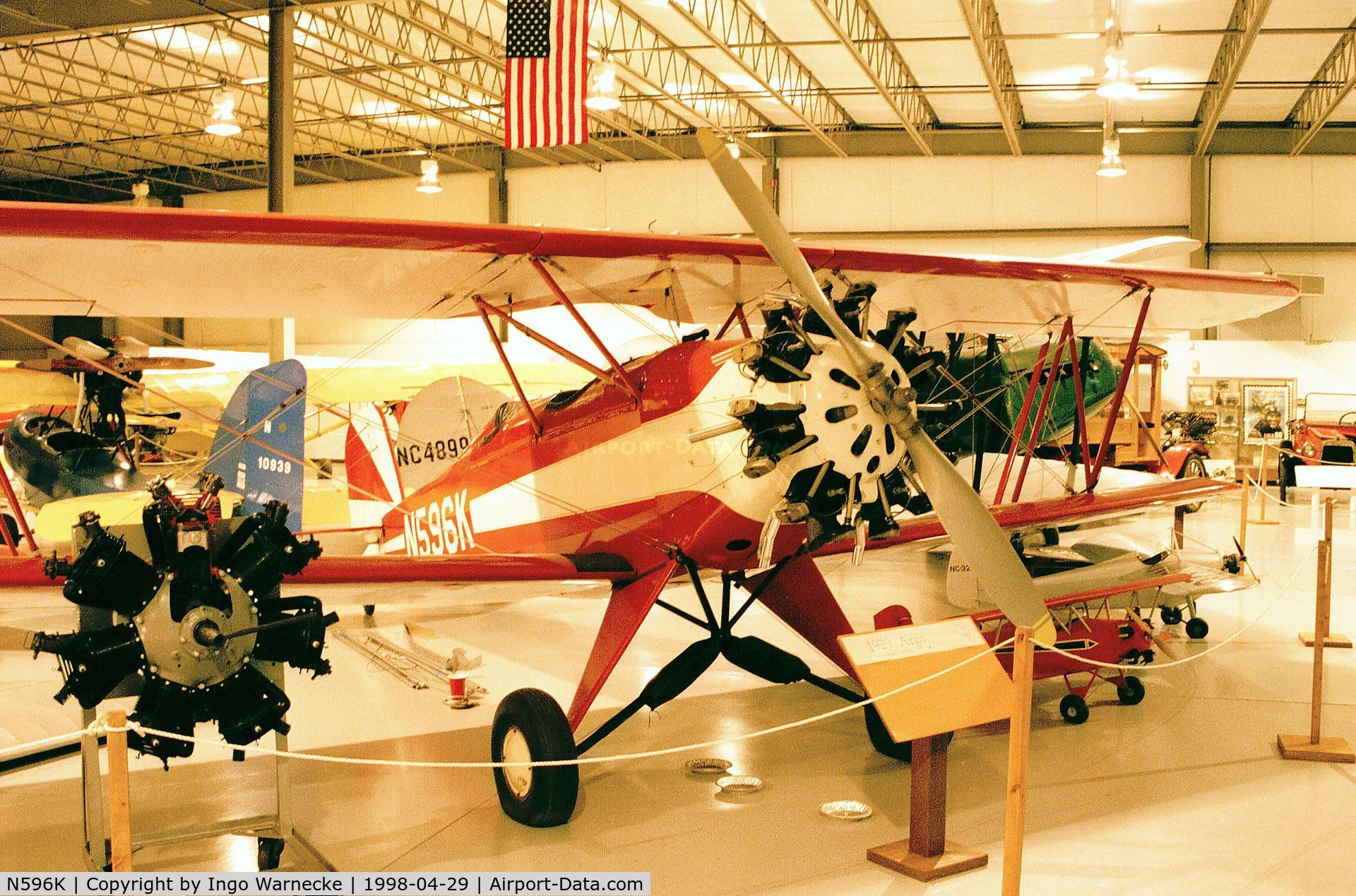 N596K, 1929 Alliance Aircraft ARGO C/N 106, Alliance Argo at the Ohio History of Flight Museum, Columbus OH