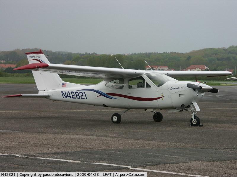 N42821, Reims F177RG Cardinal RG C/N 0088, Cessna Cardinal