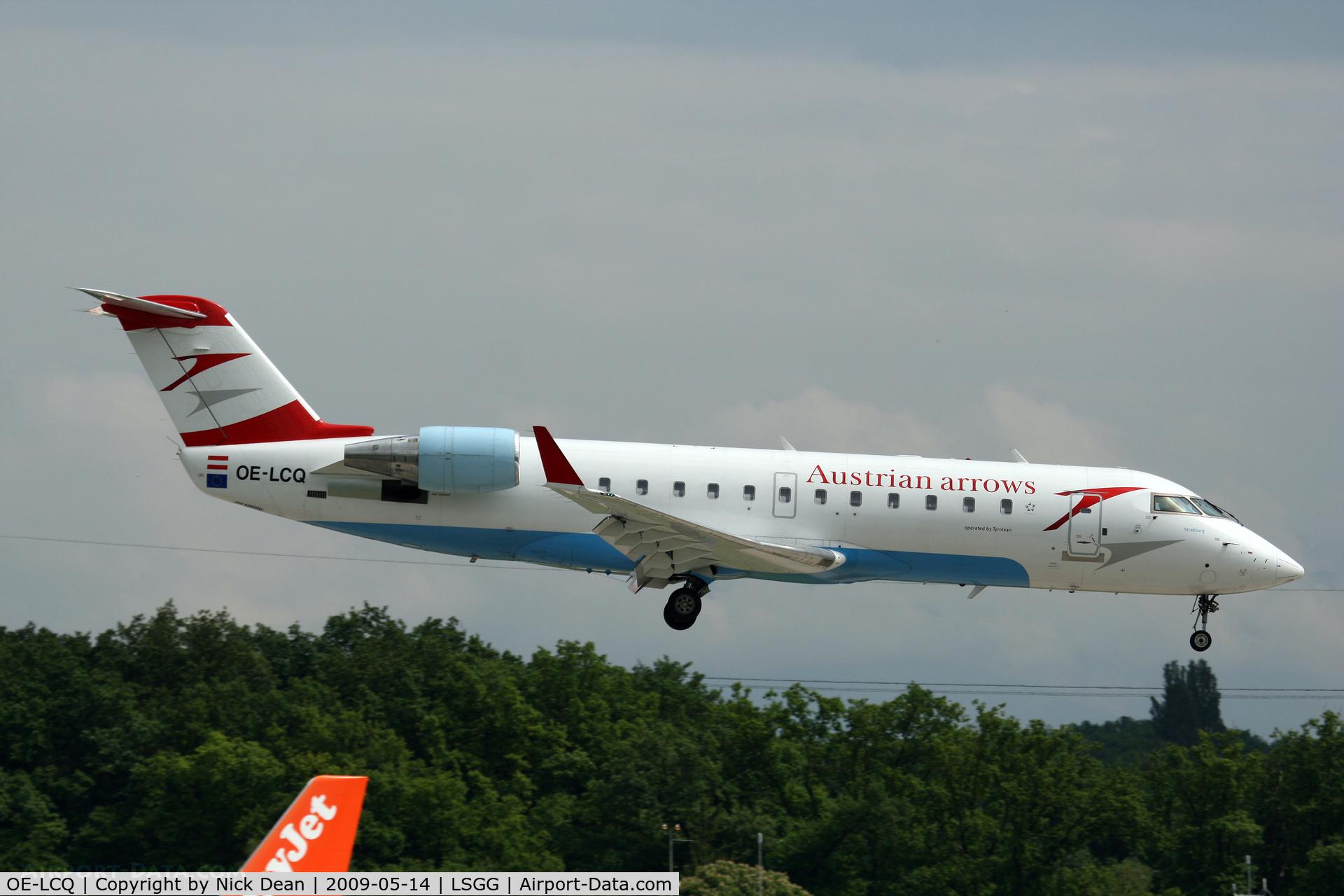 OE-LCQ, Canadair CRJ-200LR (CL-600-2B19) C/N 7605, LSGG