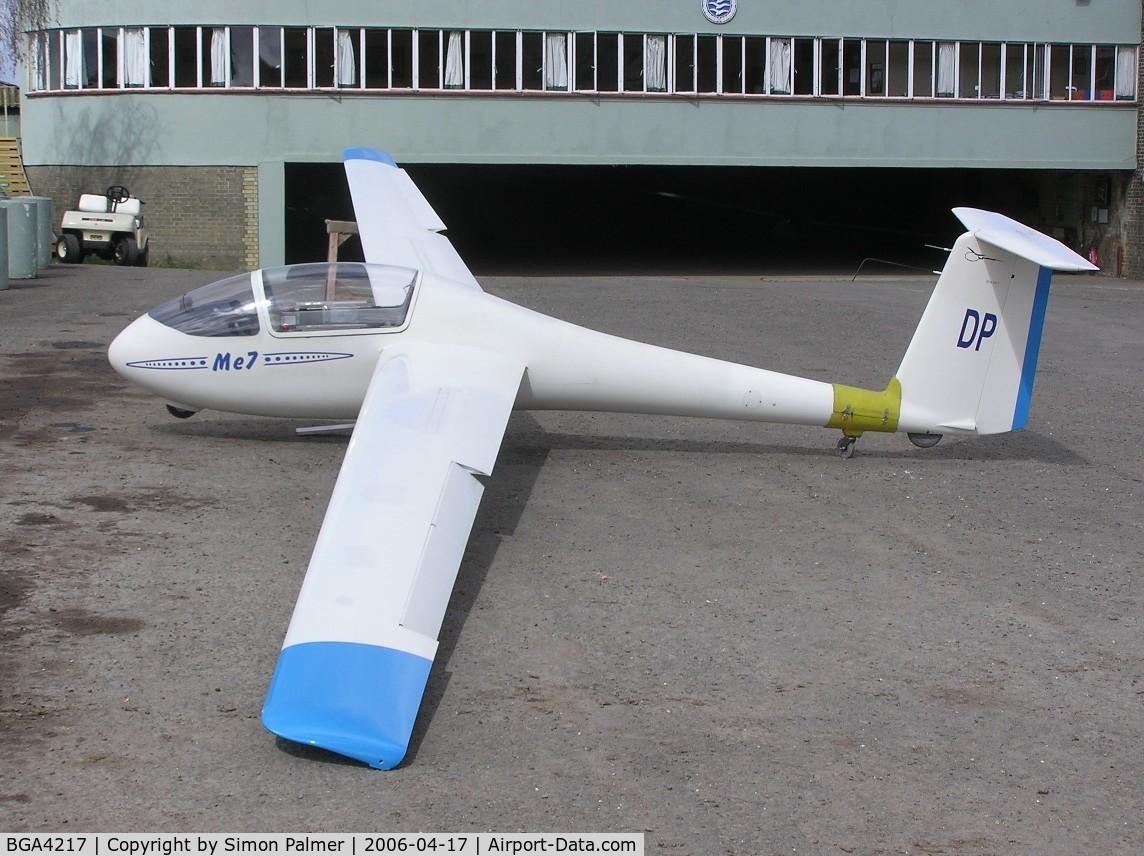 BGA4217, Federov FE-7 Mechta C/N 7, Federov ME-7 Mechta, c/n M007, at Dunstable