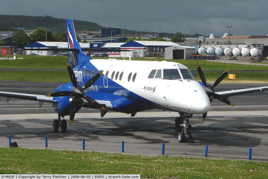 G-MAJP, 1994 British Aerospace Jetstream 41 C/N 41039, Eastern Jetsream 4100  at Aberdeen