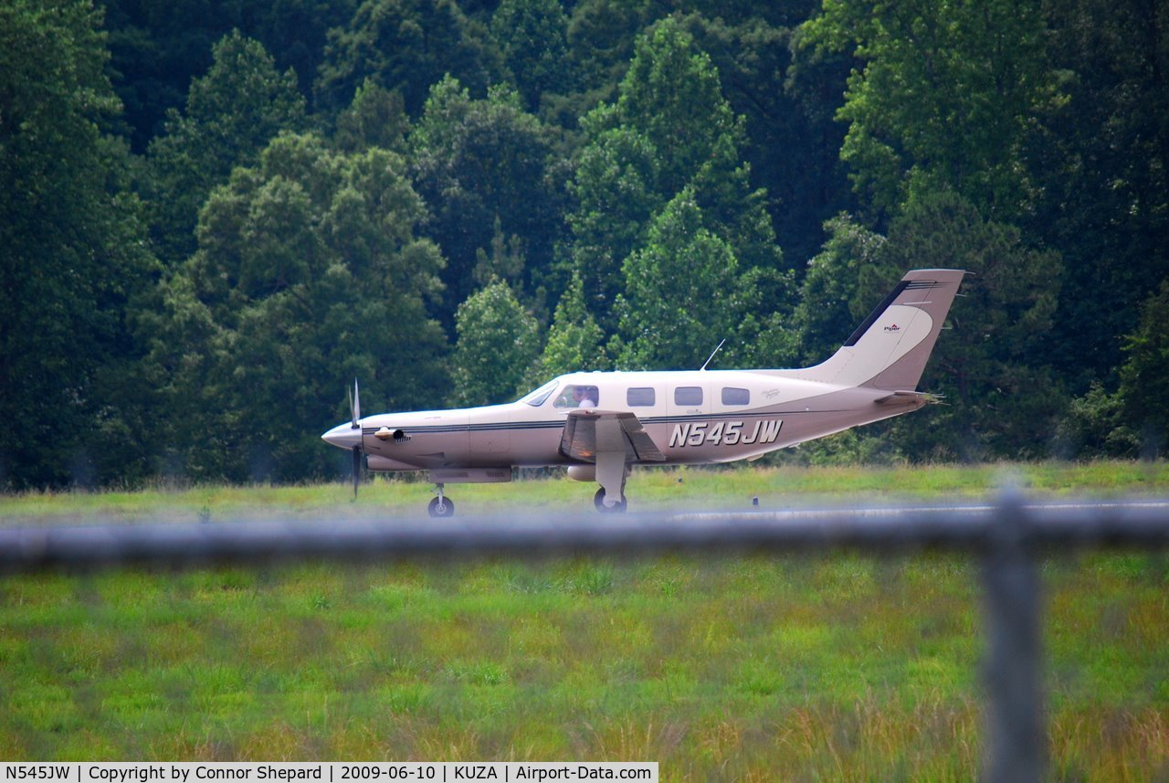 N545JW, 1998 Piper PA-46-350P Malibu Mirage C/N 4636146, Piper Malibu
