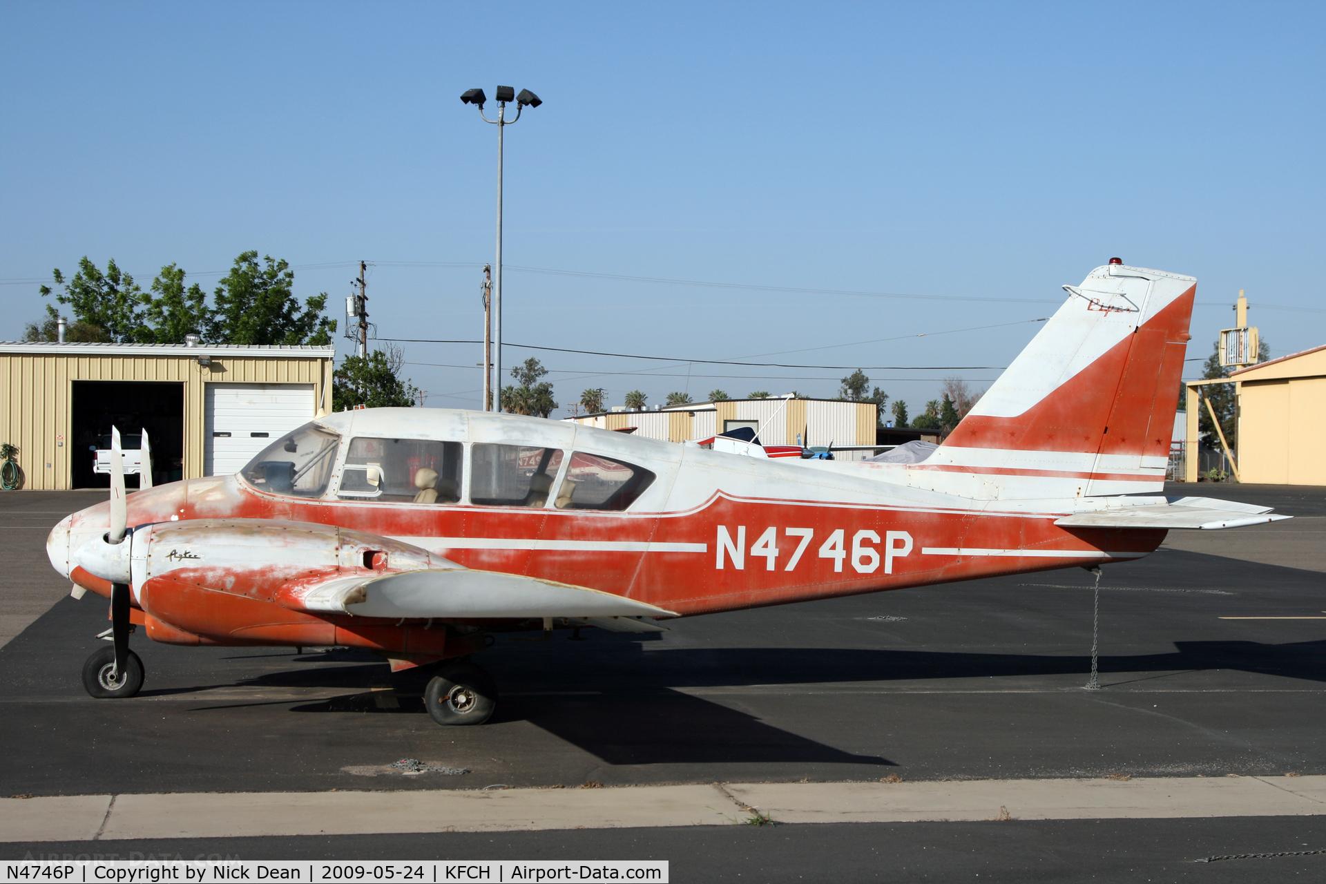 N4746P, 1960 Piper PA-23-250 C/N 27-282, KFCH