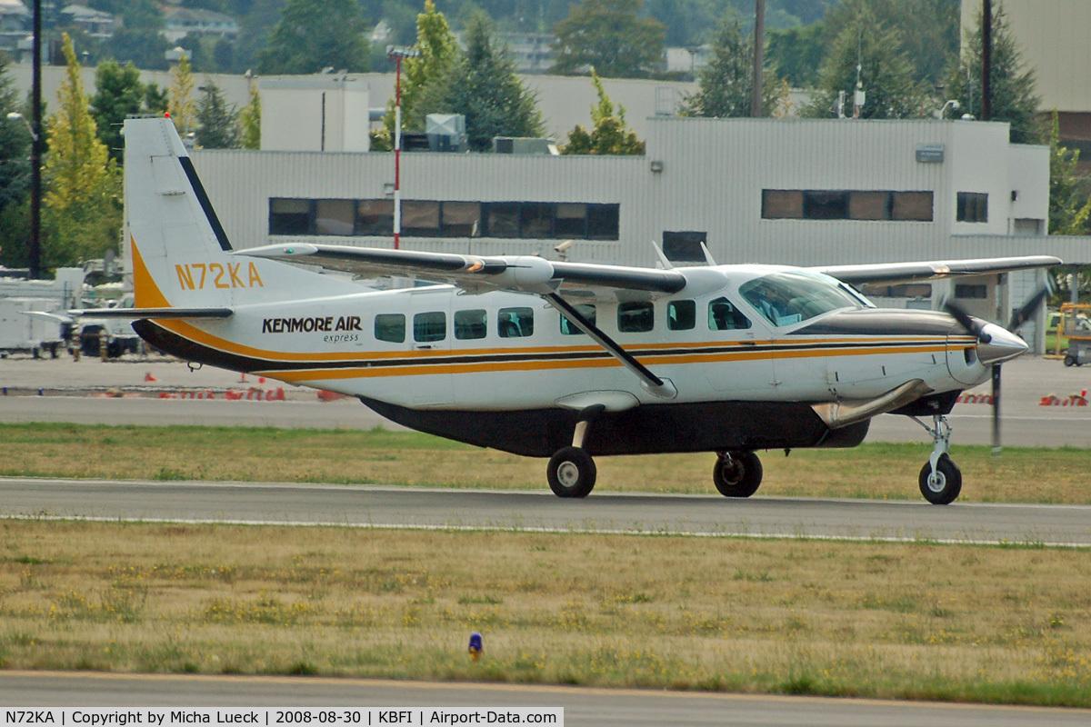 N72KA, 1992 Cessna 208B C/N 208B0326, At Boeing Field