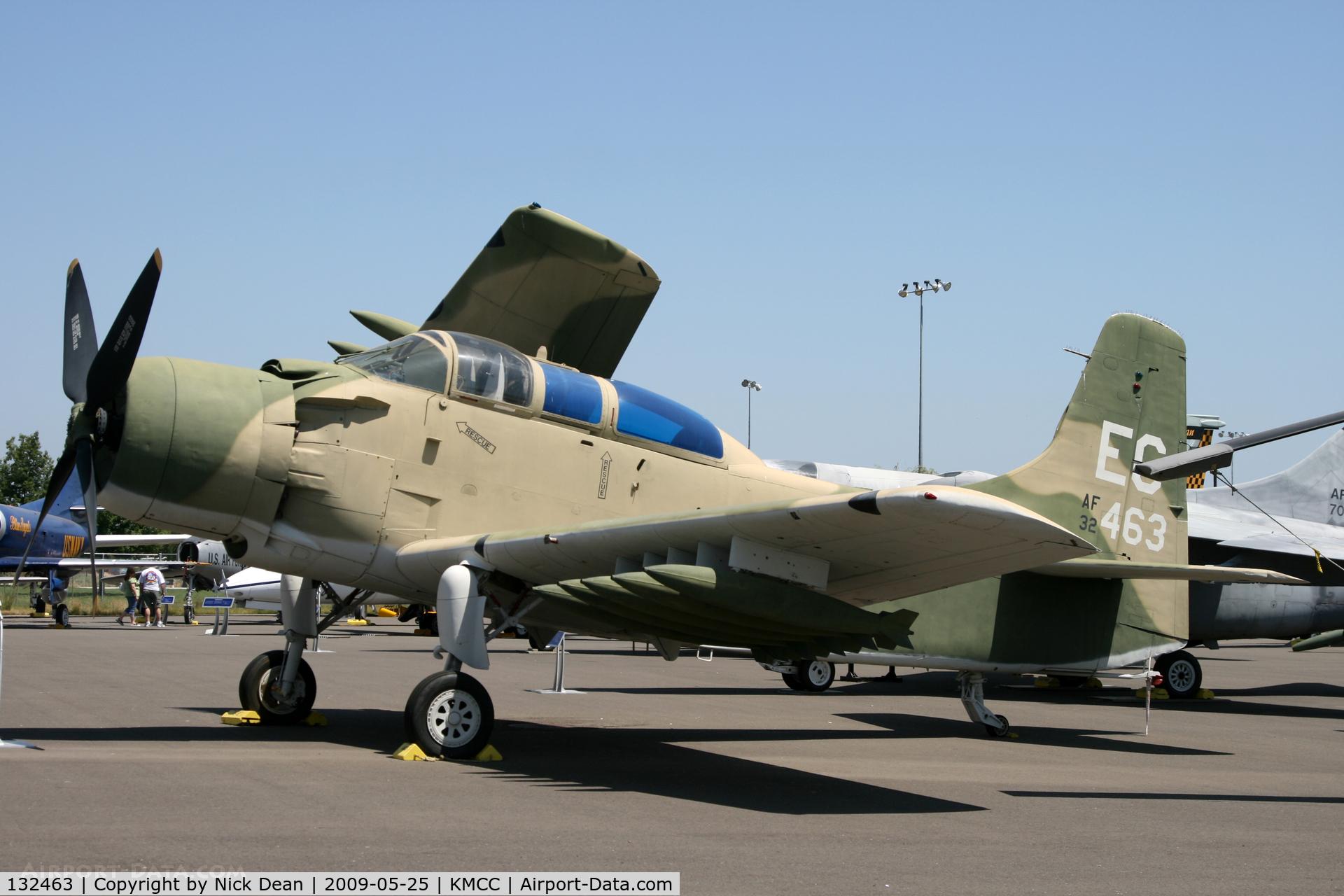 132463, Douglas A-1E Skyraider C/N 9480, KMCC