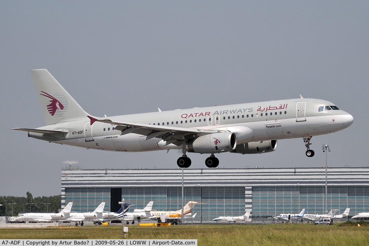 A7-ADF, 2003 Airbus A320-232 C/N 2097, Qatar Airways