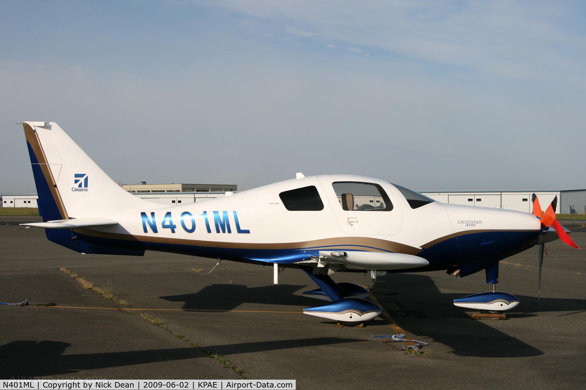 N401ML, 2008 Cessna LC41-550FG C/N 411046, KPAE