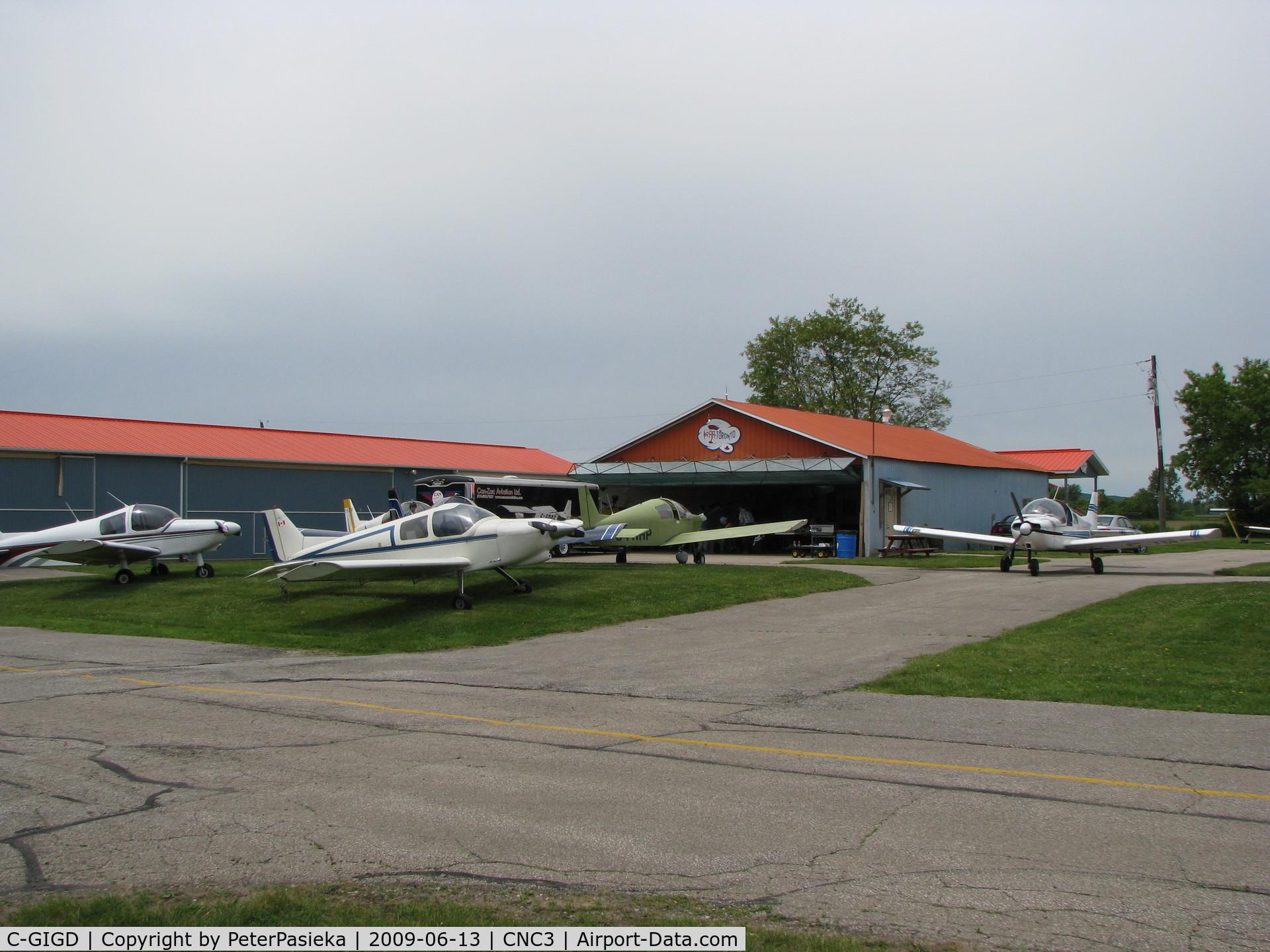 C-GIGD, 1986 Zenair CH-300 Tri-Z C/N 3-473, @ Brampton Airport