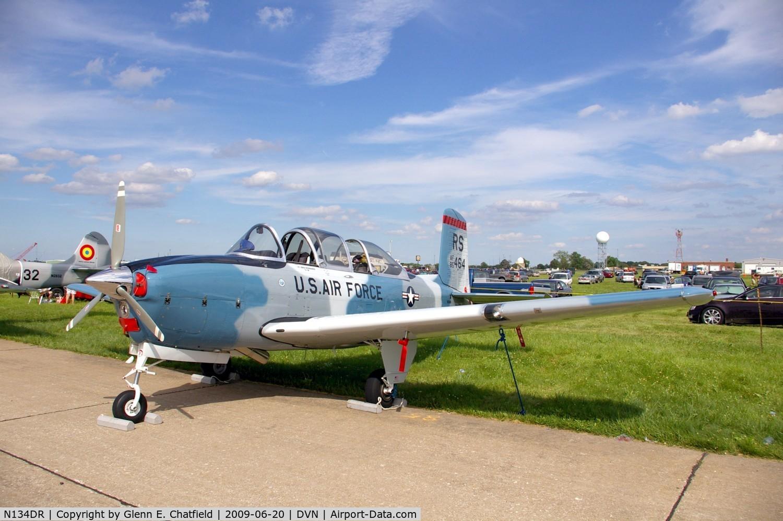N134DR, 1956 Beech D-45 Mentor C/N BG-169, Quad Cities Air Show, T-34B 140835