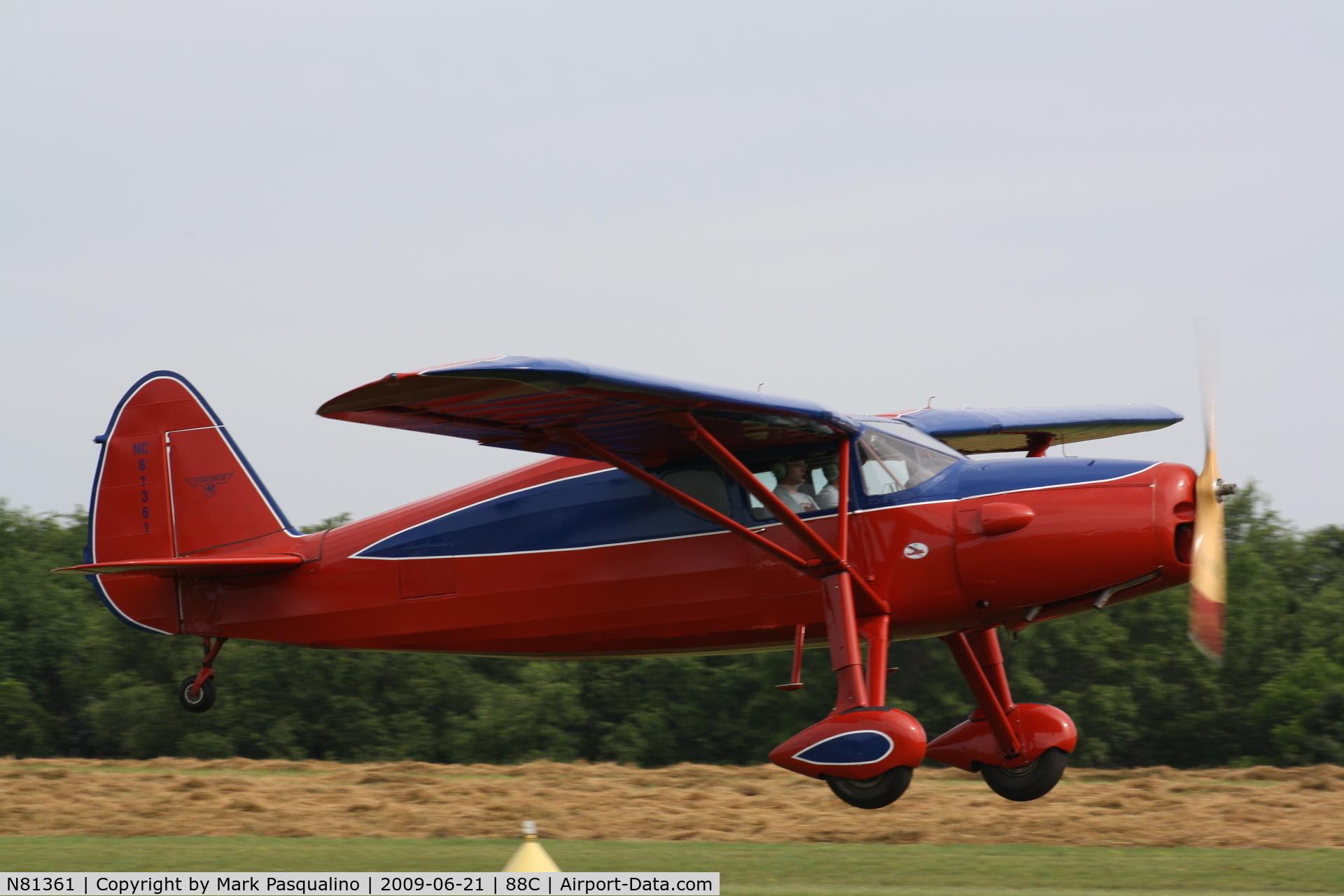 N81361, 1946 Fairchild 24R-46 C/N R46261, Fairchild 24R-46