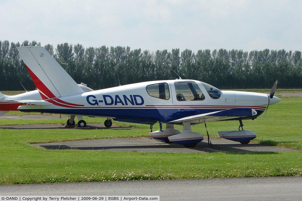G-DAND, 1980 Socata TB-10 Tobago C/N 72, Socata TB10 at Shobdon on the Day of the 2009 LAA Regional Strut Fly-in