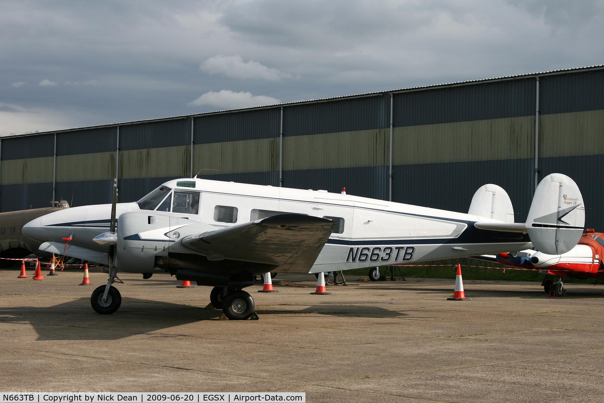N663TB, 1964 Beech H-18 Tri-Gear C/N BA-663, EGSX