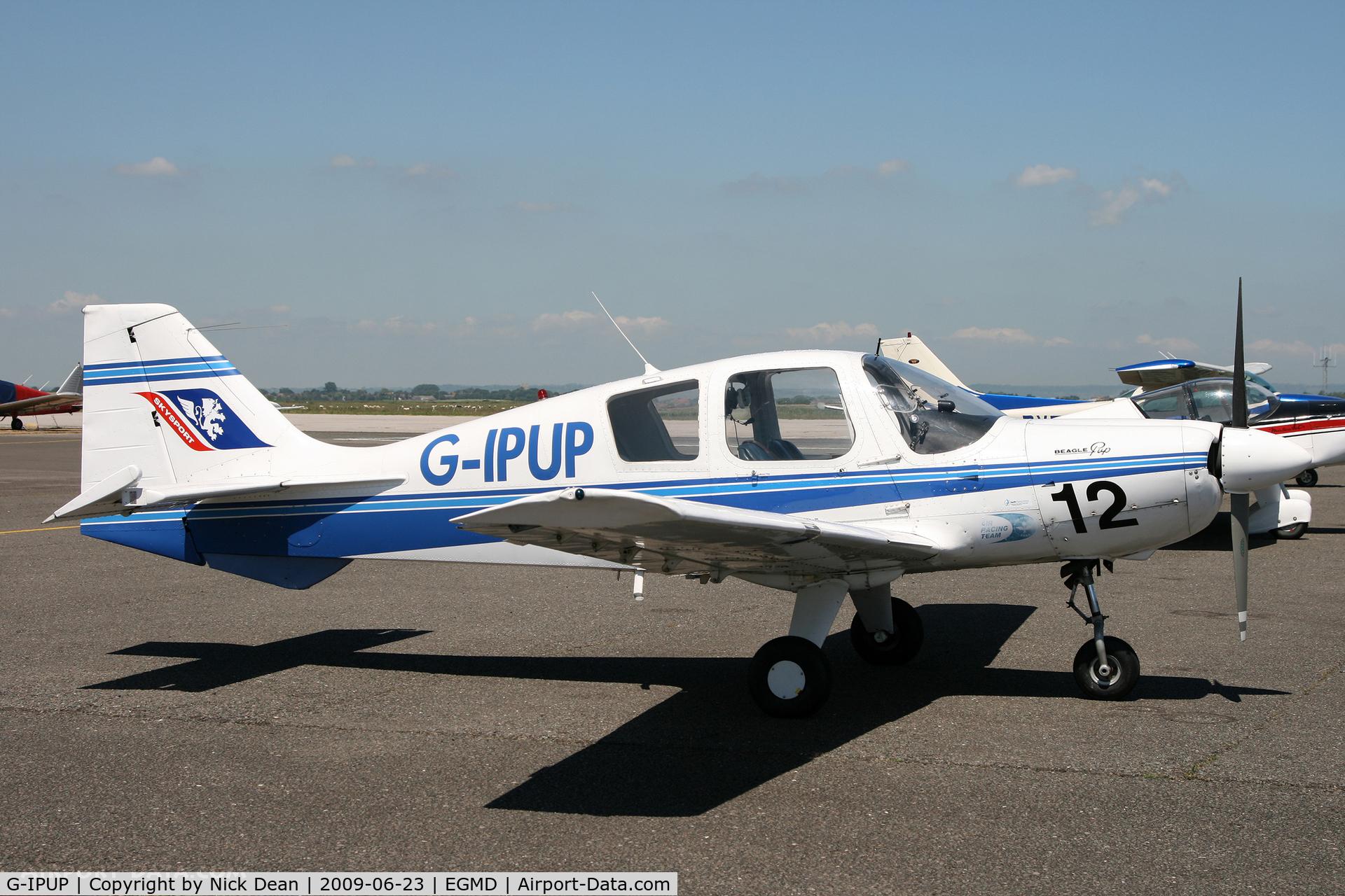 G-IPUP, 1969 Beagle B-121 Pup Series 2 (Pup 150) C/N B121-036, EGMD