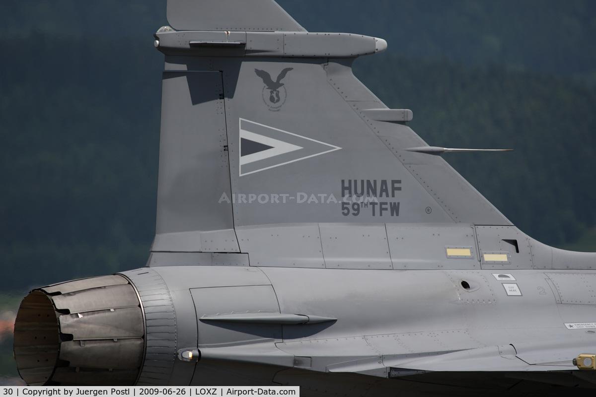 30, 2006 Saab JAS-39C Gripen C/N 39301, Saab JAS39C Gripen - Hungary Air Force
