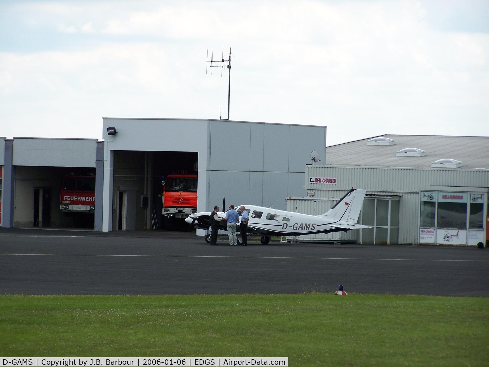 D-GAMS, Piper PA-34-220T Seneca III C/N 34-33131, N/A