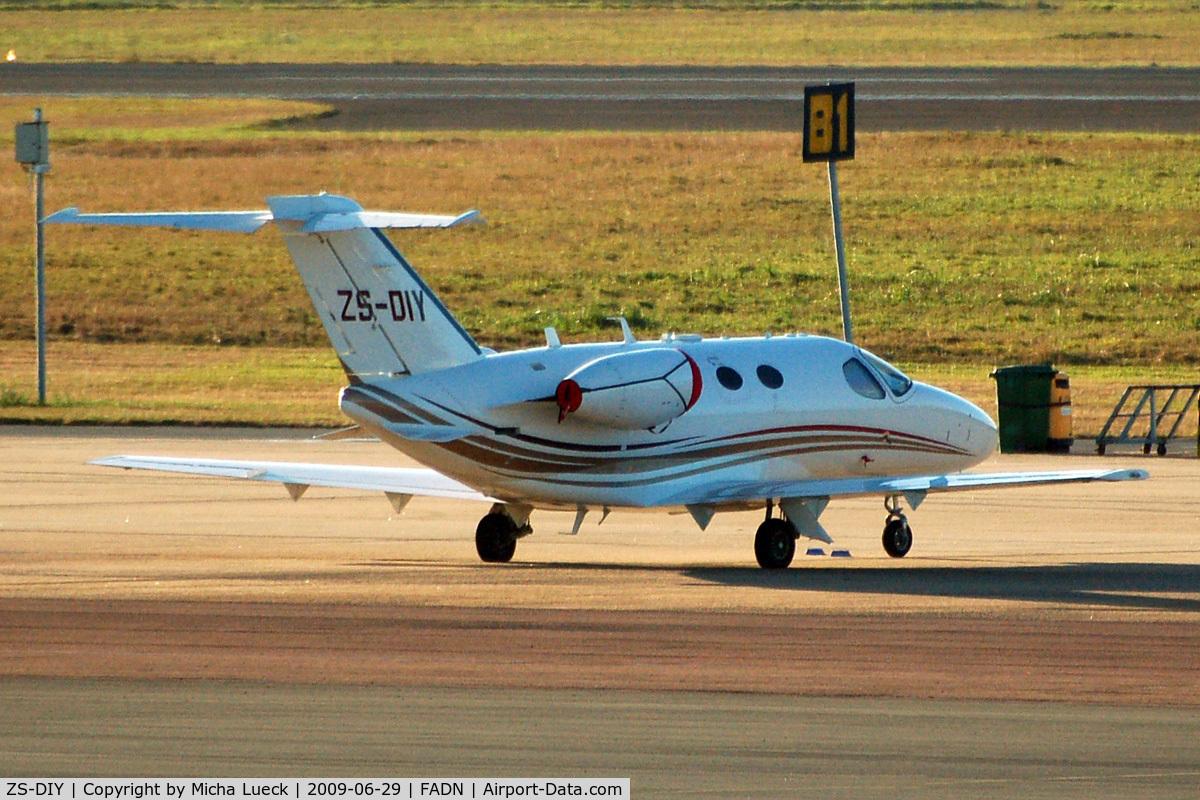 ZS-DIY, 2008 Cessna 510 Citation Mustang Citation Mustang C/N 510-0092, At Durban