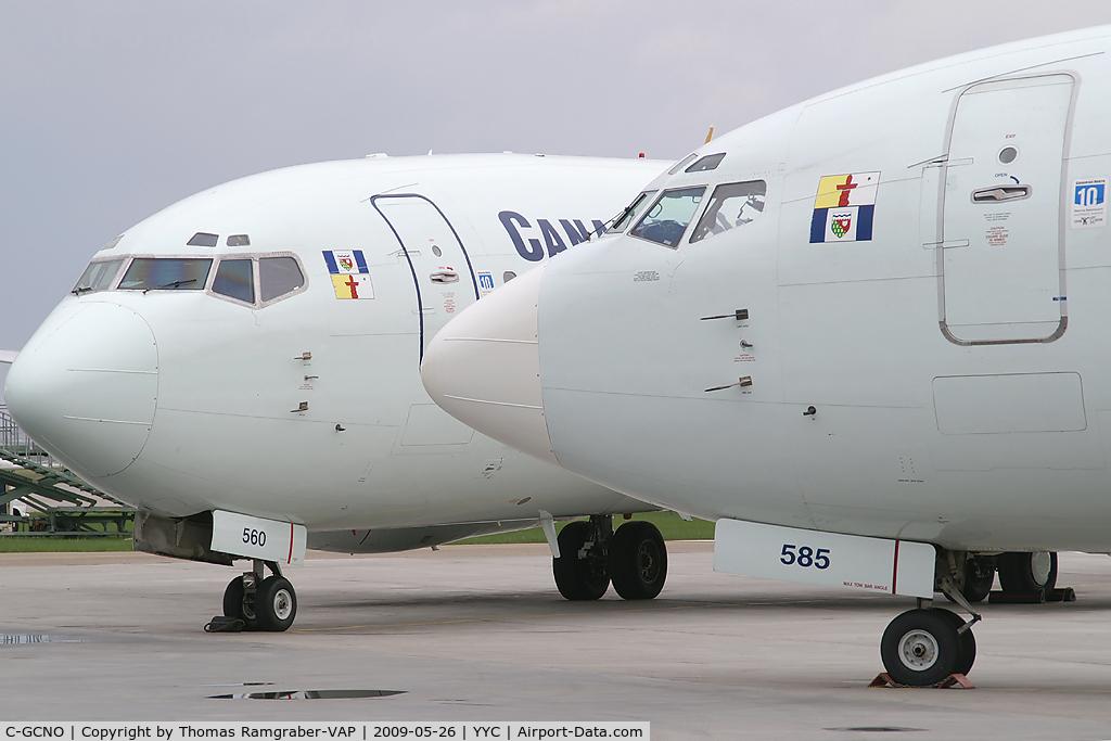 C-GCNO, 1987 Boeing 737-25A C/N 23790, Canadian North Boeing 737-200
