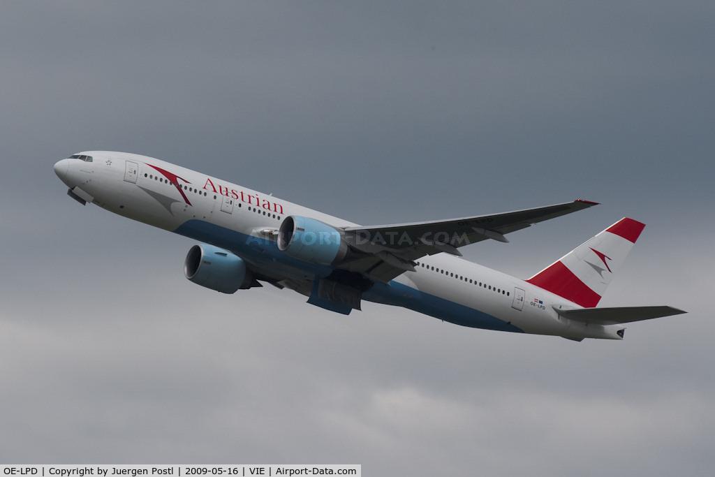 OE-LPD, 2006 Boeing 777-2B8/ER C/N 35960, Boeing 777-2B8/ER