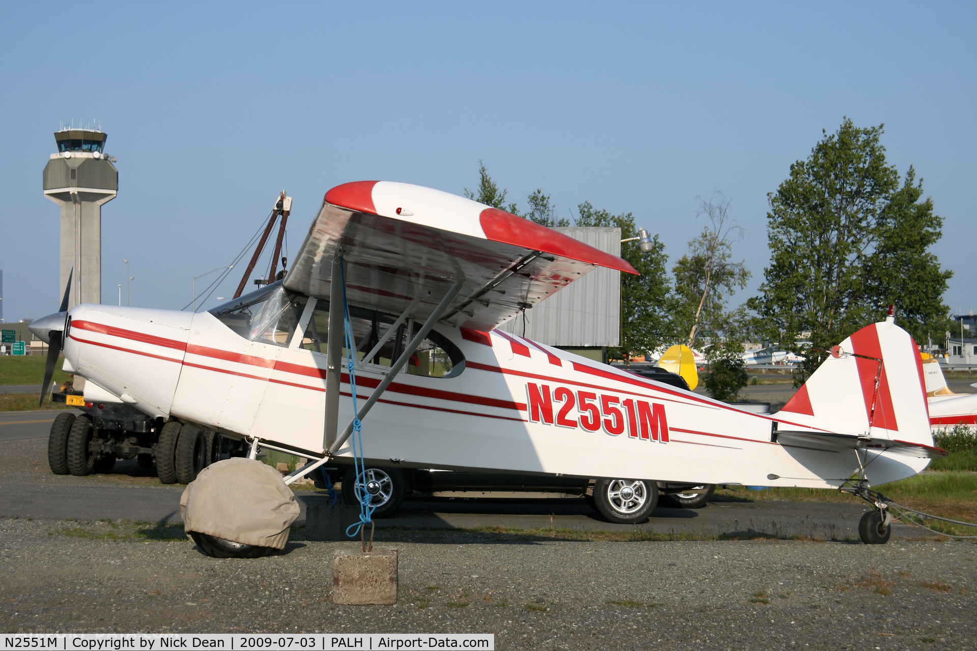 N2551M, 1946 Piper PA-12 Super Cruiser C/N 12-920, PALH