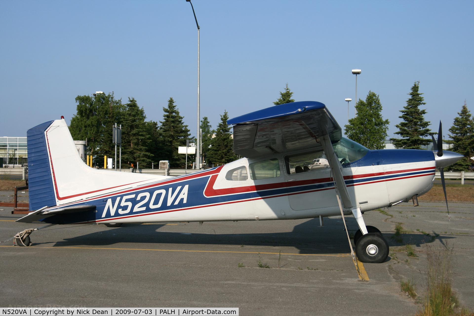 N520VA, 1977 Cessna A185F Skywagon 185 C/N 18503352, PALH