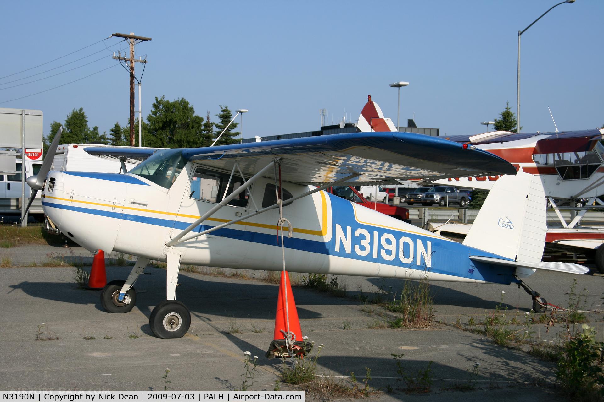 N3190N, 1947 Cessna 140 C/N 13448, PALH