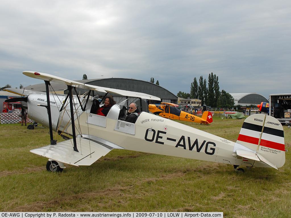 OE-AWG, Tatra T-131PA Jungmann C/N 122, Bücker Jungmann