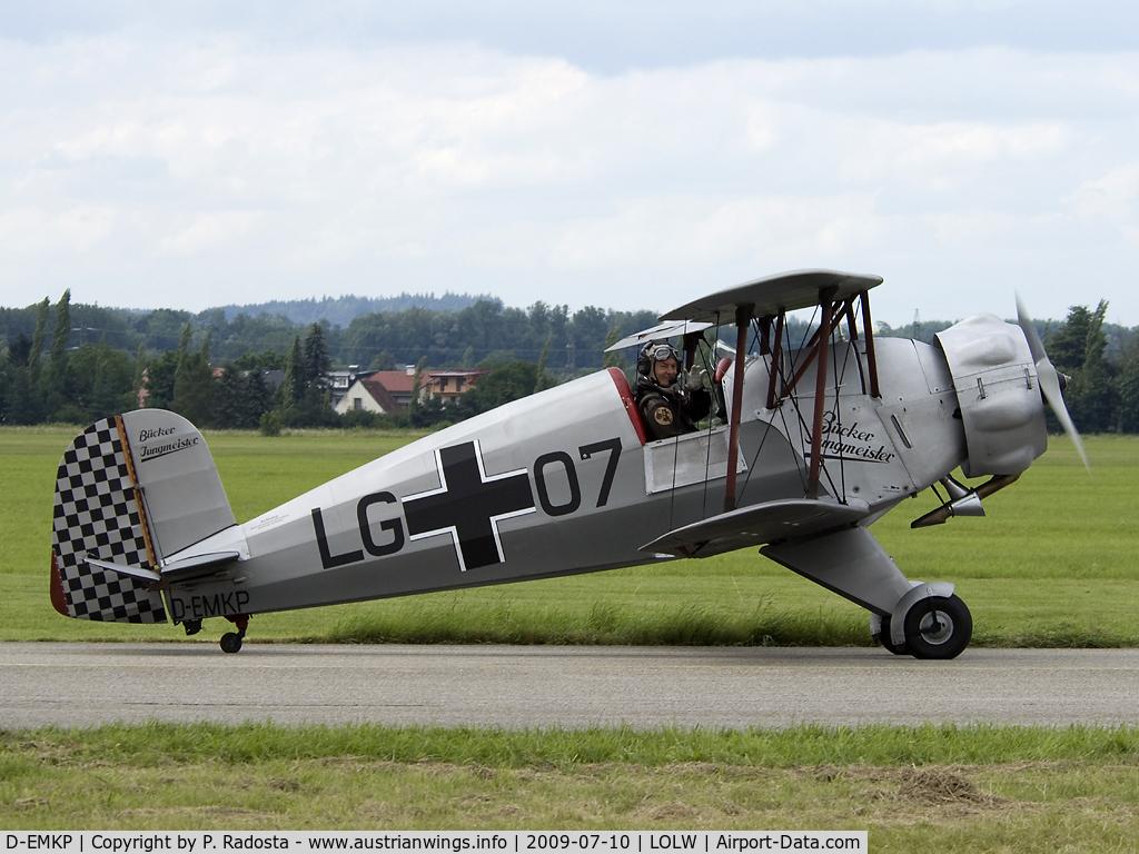 D-EMKP, 1940 Doflug Bu-133C Jungmeister C/N 28, Bücker Jungmeister in Luftwaffe colors