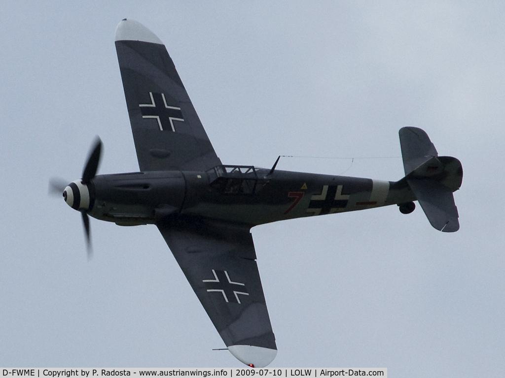 D-FWME, Messerschmitt Bf-109G-4 C/N 0139, Legendary Warbird - Messerschmitt Me 109