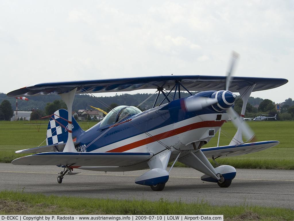 D-ECKC, Pitts S-2A Special C/N 2122, Welser Flugtage 2009