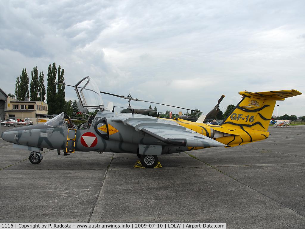 1116, Saab 105OE C/N 105416, Saab 105 of the Austrian Air Force at