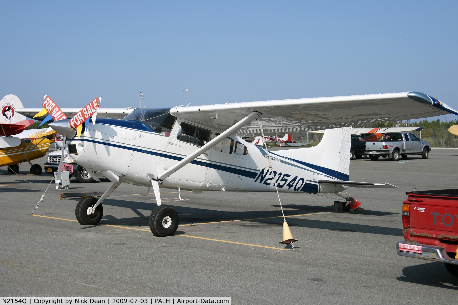 N2154Q, 1978 Cessna A185F Skywagon 185 C/N 18503510, PALH