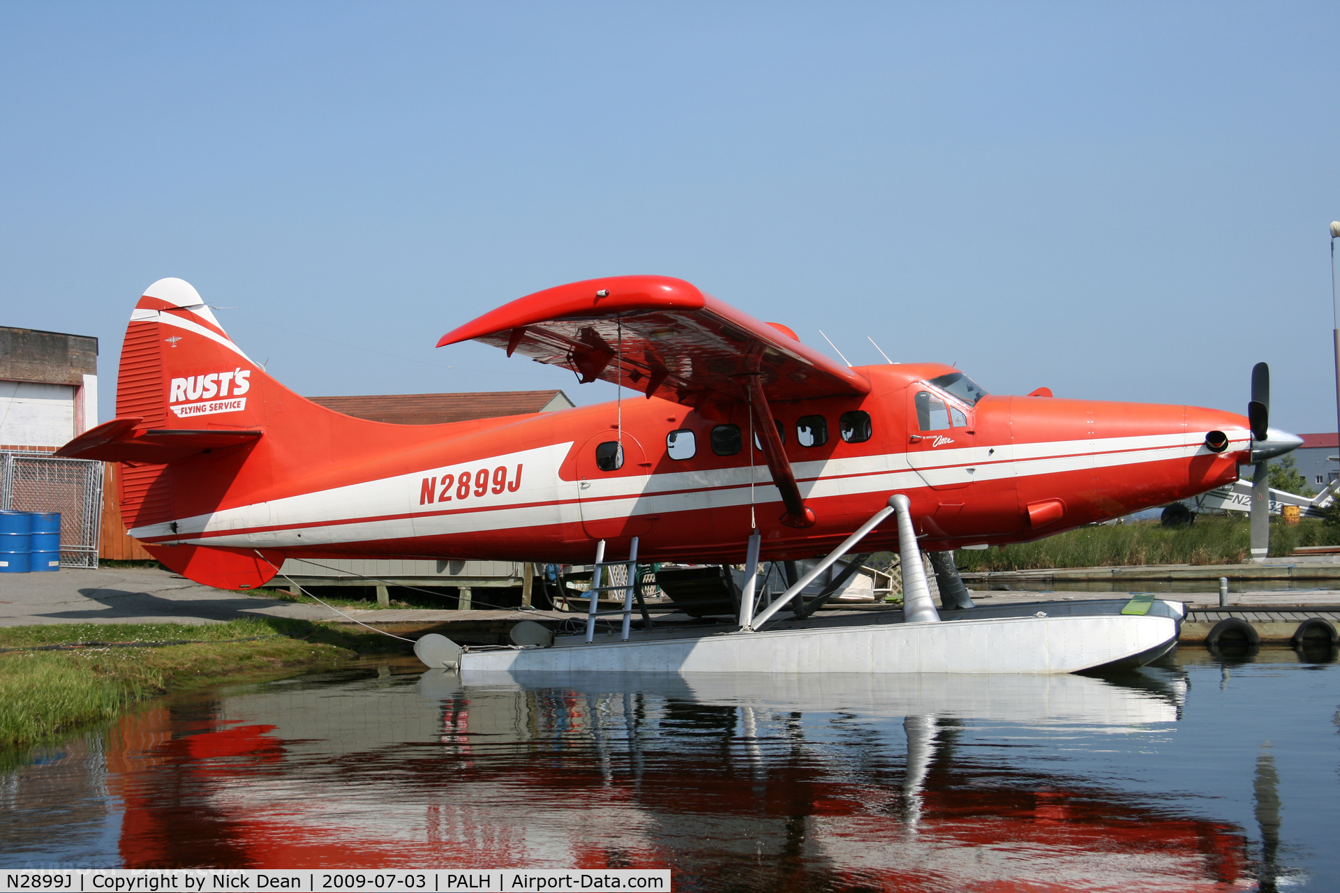 N2899J, 1961 De Havilland Canada DHC-3 Turbo Otter C/N 425, PALH