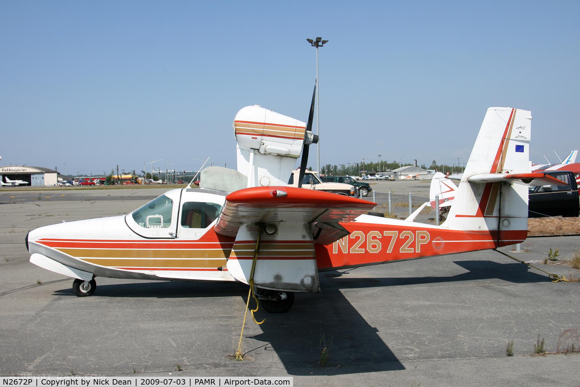 N2672P, 1978 Consolidated Aeronautics Inc. LAKE LA-4-200 C/N 884, PAMR